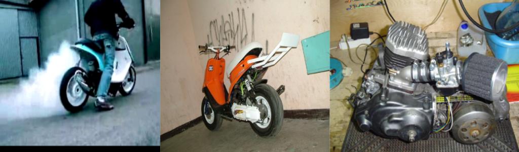 Пластик своими руками скутер